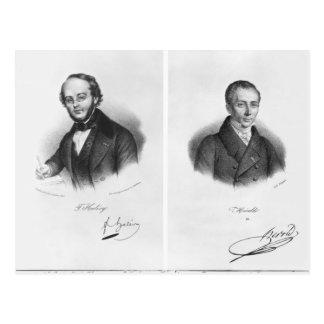 Carte Postale Jacques Fromental Halevy et Ferdinand Herold