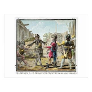 Carte Postale Jacques IL Goyon, seigneur de Matignon, prend