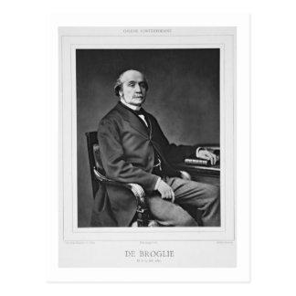 Carte Postale Jacques Victor Albert de Broglie (1821-1901), de