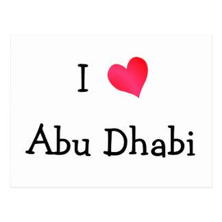 Carte Postale J'aime Abu Dhabi