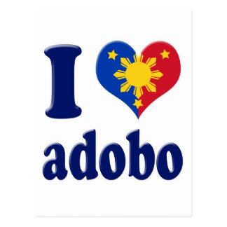 Carte Postale J'aime Adobong Pinoy