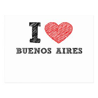 Carte Postale J'aime Buenos Aires