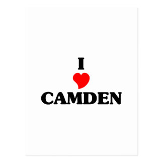 Carte Postale J'aime Camden