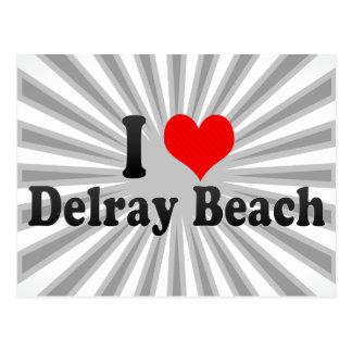Carte Postale J'aime Delray Beach, Etats-Unis