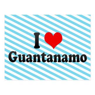 Carte Postale J'aime Guantanamo, Cuba