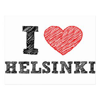 Carte Postale J'aime Helsinki