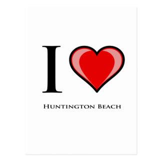Carte Postale J'aime Huntington Beach
