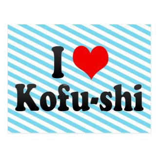 Carte Postale J'aime Kofu-shi, Japon. Aisuru Kofu-Shi, Japon