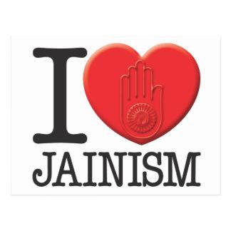 Carte Postale J'aime le jaïnisme