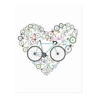 Carte Postale J'aime mon vélo