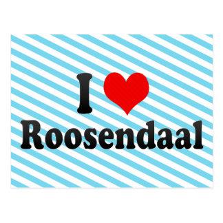Carte Postale J'aime Roosendaal, Pays-Bas