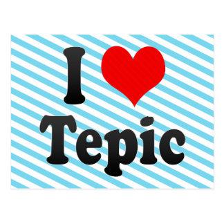 Carte Postale J'aime Tepic, Mexique. J'Encanta Tepic, Mexique