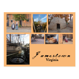 Carte Postale Jamestown (la Virginie)