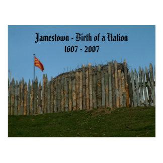 Carte Postale Jamestown - naissance d'une nation, 1607 - 2007