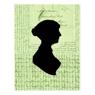 Carte Postale Jane Austen, m'appellent Letter de Madame Jane