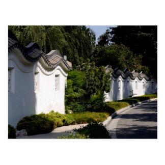 Carte Postale Jardin chinois - bibliothèque la Californie de