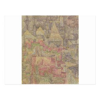Carte Postale Jardin de château par Paul Klee