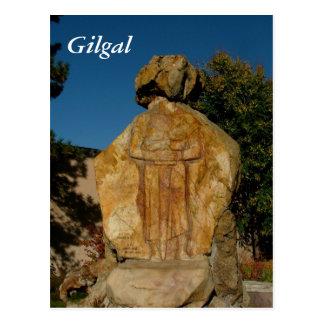 Carte Postale Jardin de sculpture en Gilgal