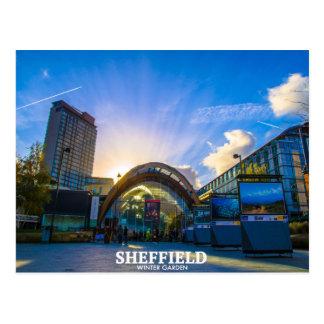 Carte Postale Jardin d'hiver de Sheffield