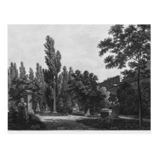 Carte Postale Jardin du cloître, monuments de DES de Musee