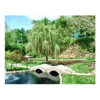 Carte Postale Jardin submergé de Huntington