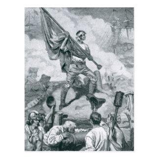 Carte Postale Jaspe de sergent à la bataille du fort Moultrie