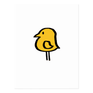 carte postale jaune vert. d'uccellino