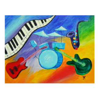 Carte Postale Jazz il !