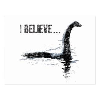 Carte Postale Je crois… le monstre de Loch Ness