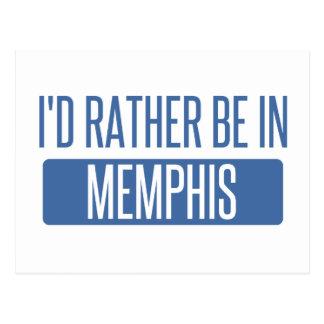 Carte Postale Je serais plutôt à Memphis