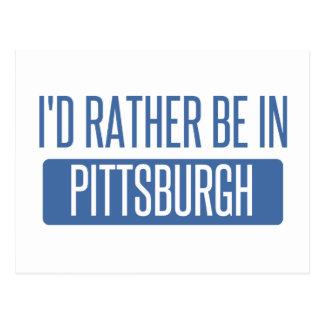 Carte Postale Je serais plutôt à Pittsburgh