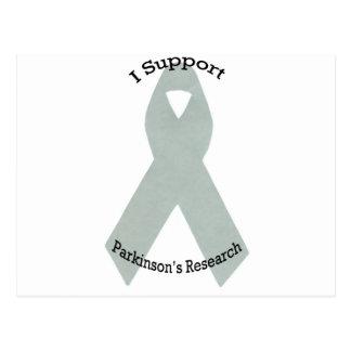 Carte Postale Je soutiens la recherche de Parkinson