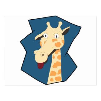 Carte Postale Je suis girafe