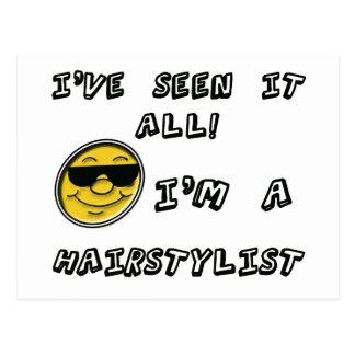 Carte Postale Je suis un styliste en coiffure