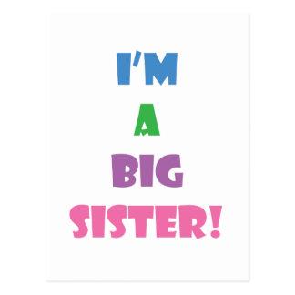 Carte Postale Je suis un texte de grande soeur