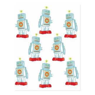 Carte Postale Je suis une armée de robot