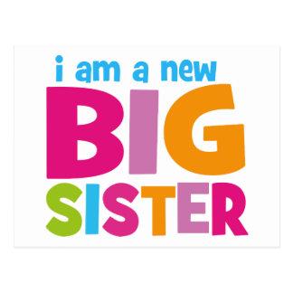 Carte Postale Je suis une nouvelle grande soeur