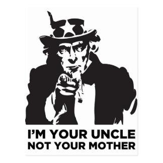 Carte Postale Je suis votre oncle Not Your Mother