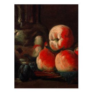 Carte Postale Jean-Baptiste-Simeon Chardin - la vie toujours