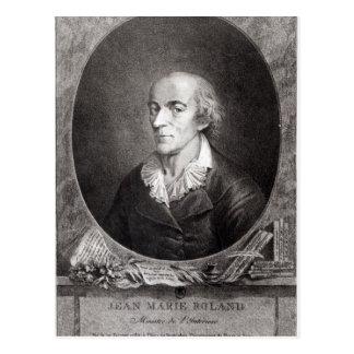 Carte Postale Jean Marie Roland de La Platiere