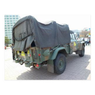 Carte Postale Jeep militaire coréenne