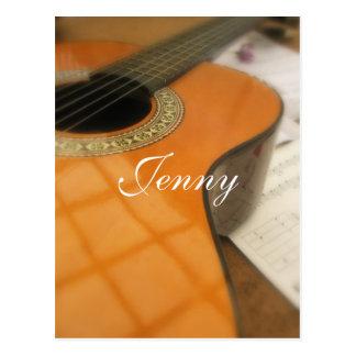 Carte Postale Jenny