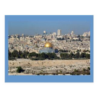 Carte Postale Jérusalem Israël