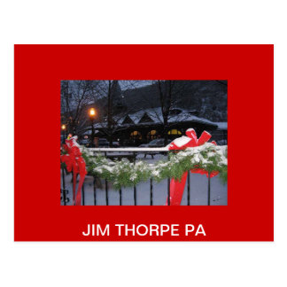Carte Postale JimThorpeStationLg, PA de THORPE de JIM