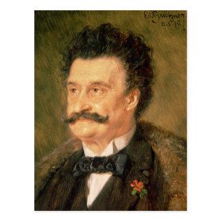 Carte Postale Johann Strauss plus le jeune, 1895