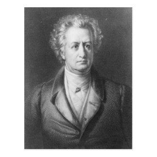 Carte Postale Johann Wolfgang Goethe