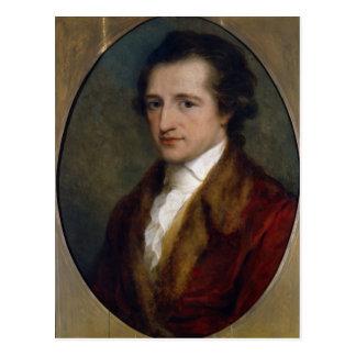 Carte Postale Johann Wolfgang von Goethe, 1775