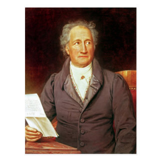 Carte Postale Johann Wolfgang von Goethe 1828