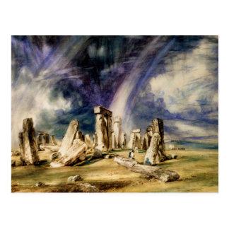 Carte Postale John Constable - Stonehenge