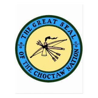 Carte Postale Joint de nation de Choctaw
